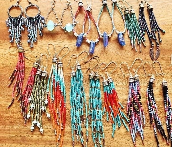 lovely collection... handmade - boho - wildhoneypiedesign   ello