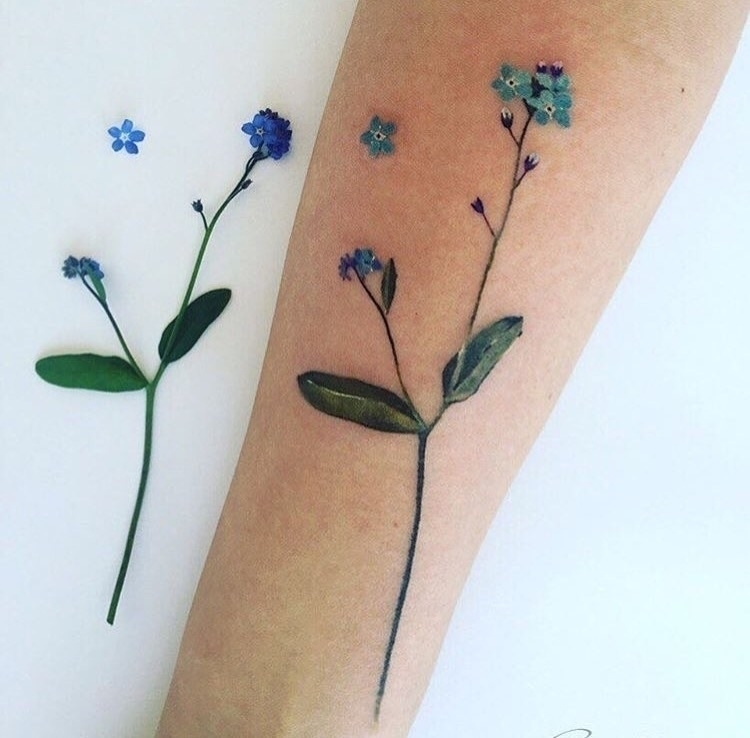 Floral tattoo love Instagram 🦋 - hippiespirit | ello