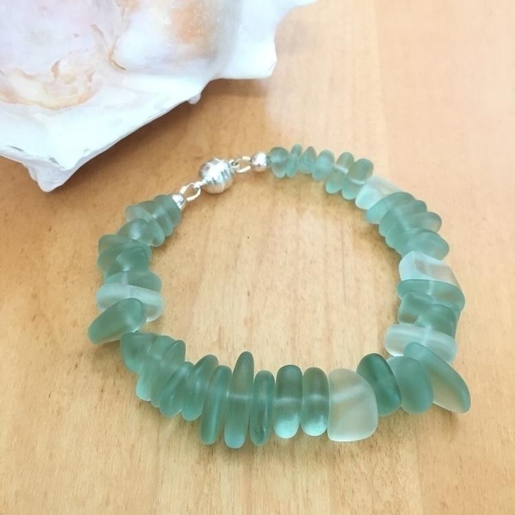 Cultured sea glass bracelet. gi - saragracedesigner | ello