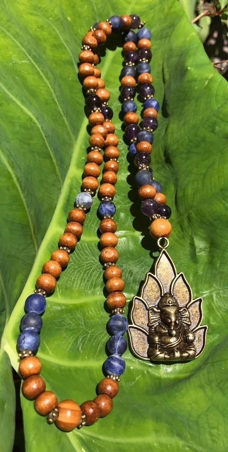 30 Beaded necklace featuring br - earthandspirittraders | ello