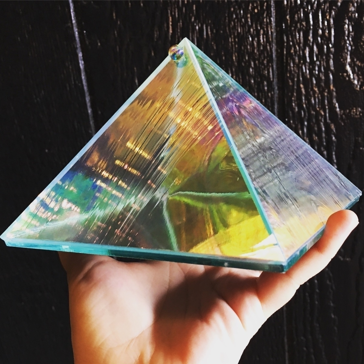 Charging + Intention Pyramid. O - helloviolet | ello