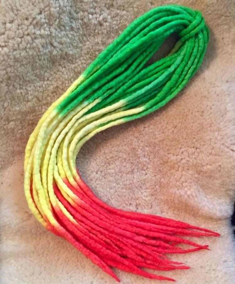 'Reggae, Baby' Special order - ombre - armadreadon_custom_hair | ello
