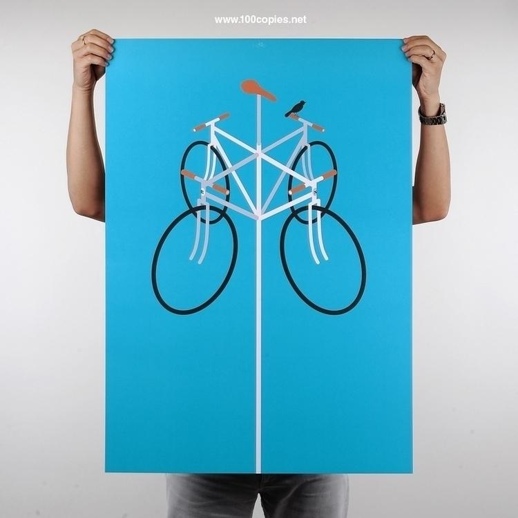 Design 07 - Wind wind good day - 100copies_bicycle_art   ello