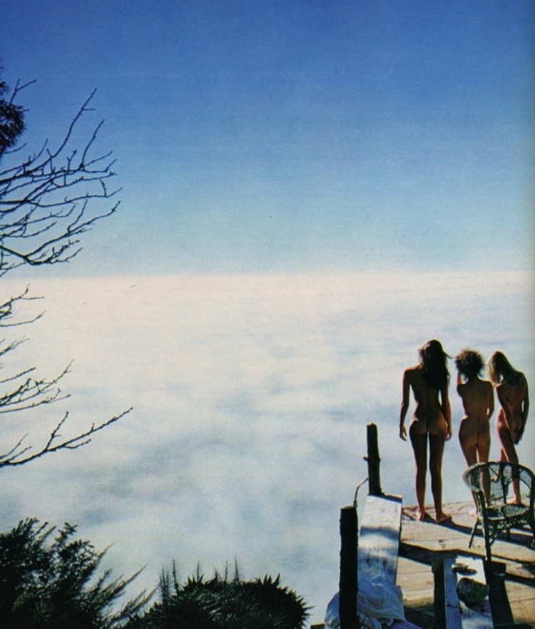 mountaintop, deck, clouds, nude - ukimalefu | ello