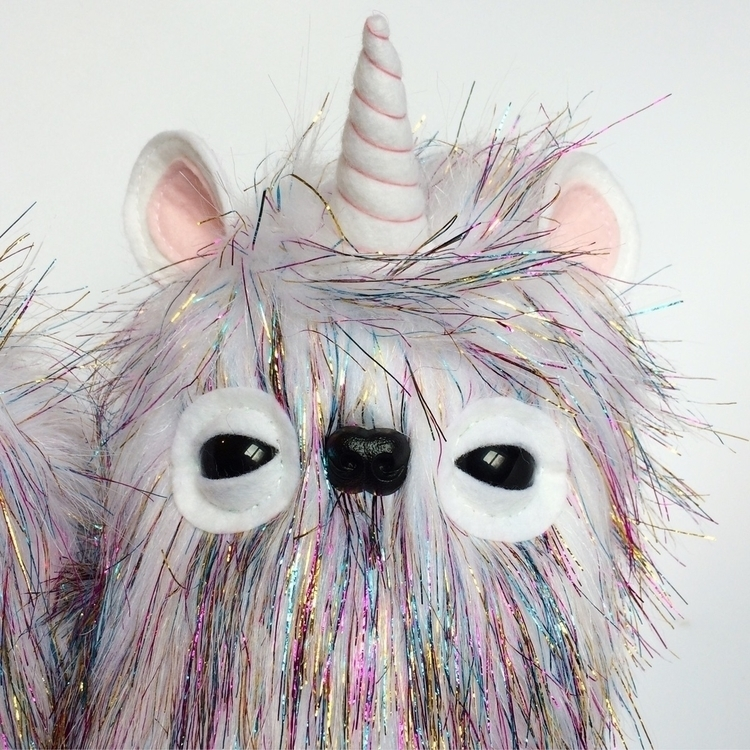 magical Unicorn Floop - handmade - hanjipandesigns | ello