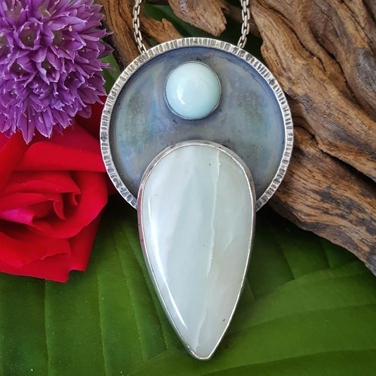 Amazonite necklace... pale blue - michelegradydesigns | ello