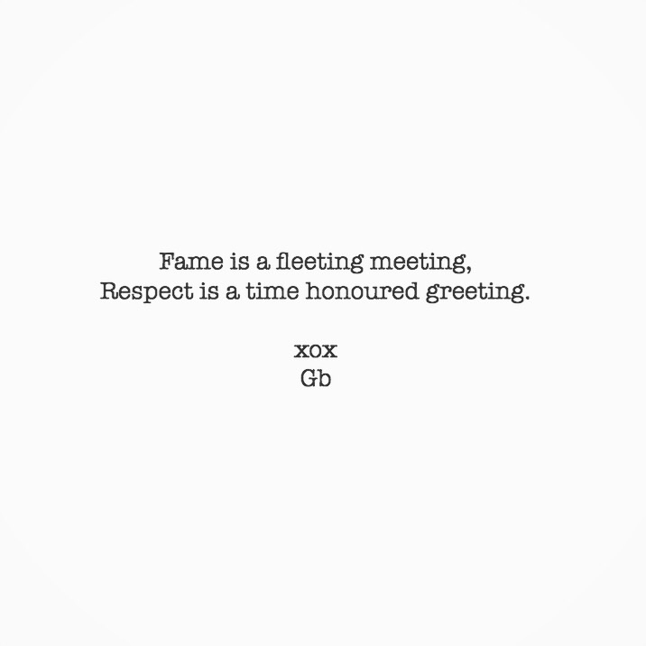 respect.  - wordsmith, poetry, poetryisnotdead - goldenbirdiewrites | ello