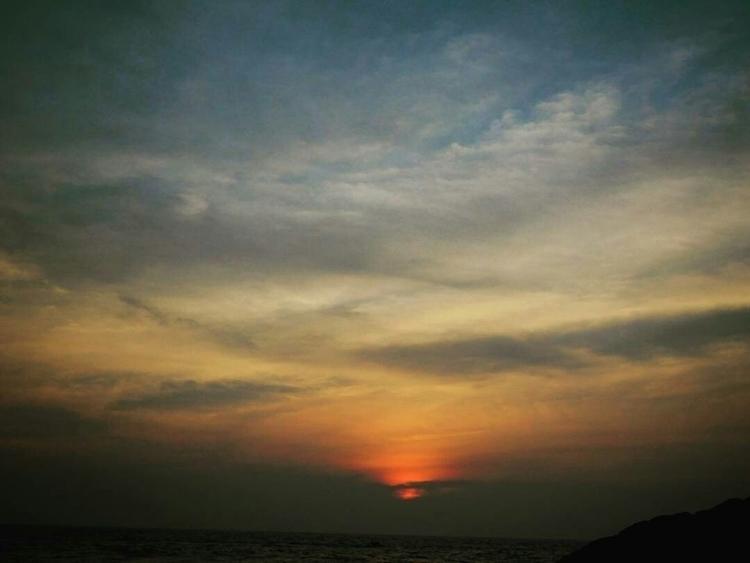 sunset, nature, sea, photography - athulnair | ello