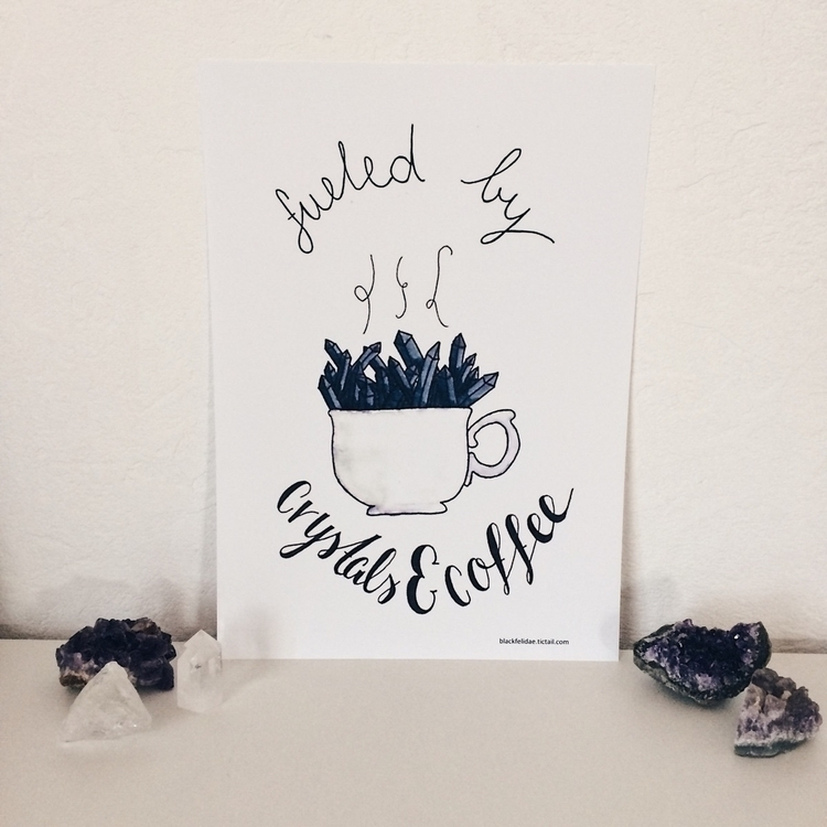Fuelled Crystals Coffee :coffee - blackfelidae | ello