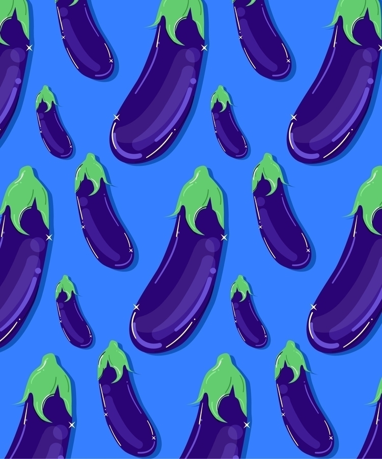 raining men - eggplant, pattern - malloryheyer | ello