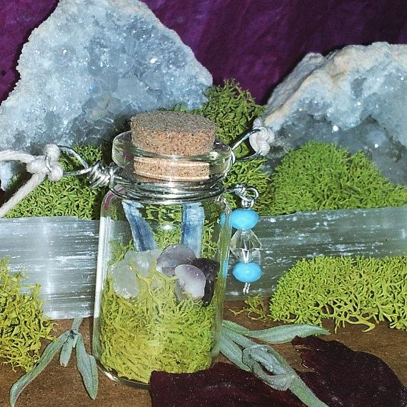 beautiful Healing crystal jar n - mintroyaleshop   ello