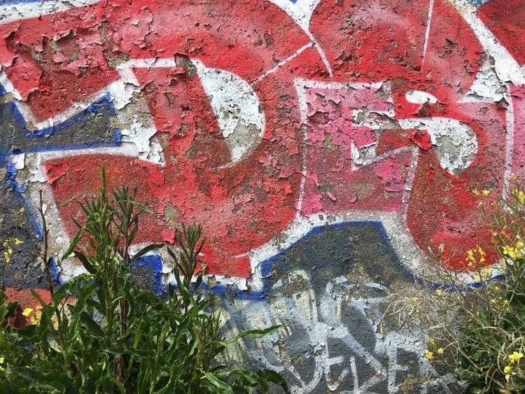 Peeling Graffiti - graffiti, colour - toshmarshall | ello