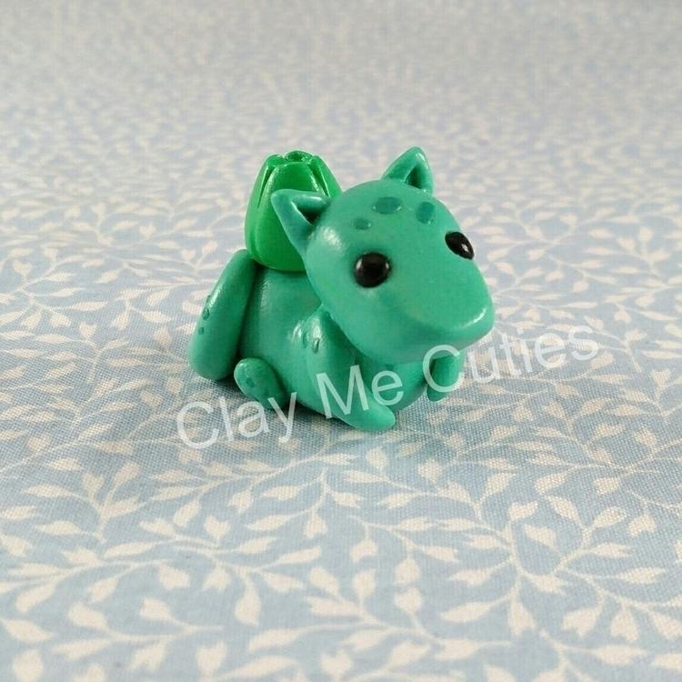 dragon inspired Bulbasaur! work - claymecuties | ello
