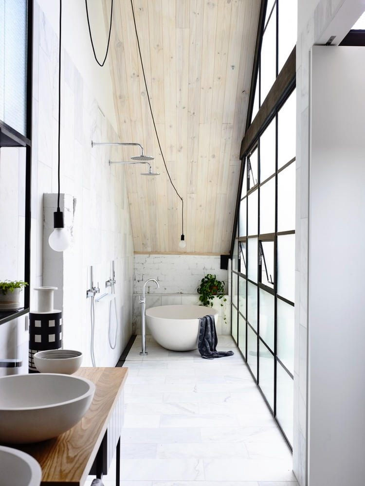 Fitzroy Loft Architects EAT - bathroom - mauudhi | ello