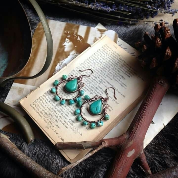 turquoise beauties - whimsical_stone | ello