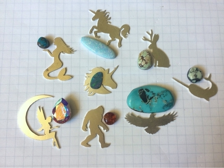 upcoming mythical creatures col - blaidddrwgdesigns | ello