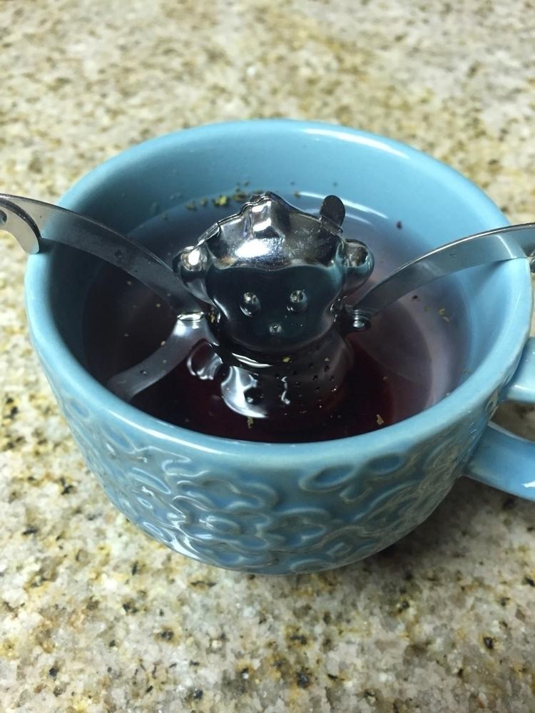 Cutest strainer - monkey, tea - elementalvibes | ello