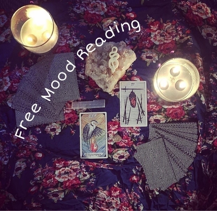 offer free mood readings. pull  - gingeroftheeast | ello