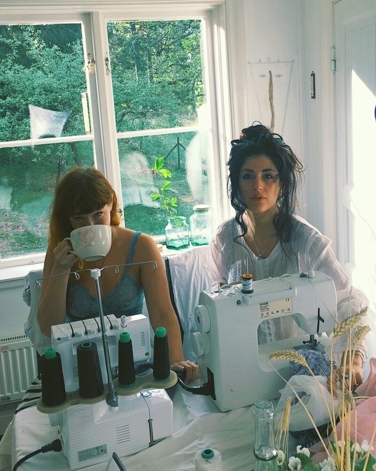 work sewing raintower collectio - naominowak | ello