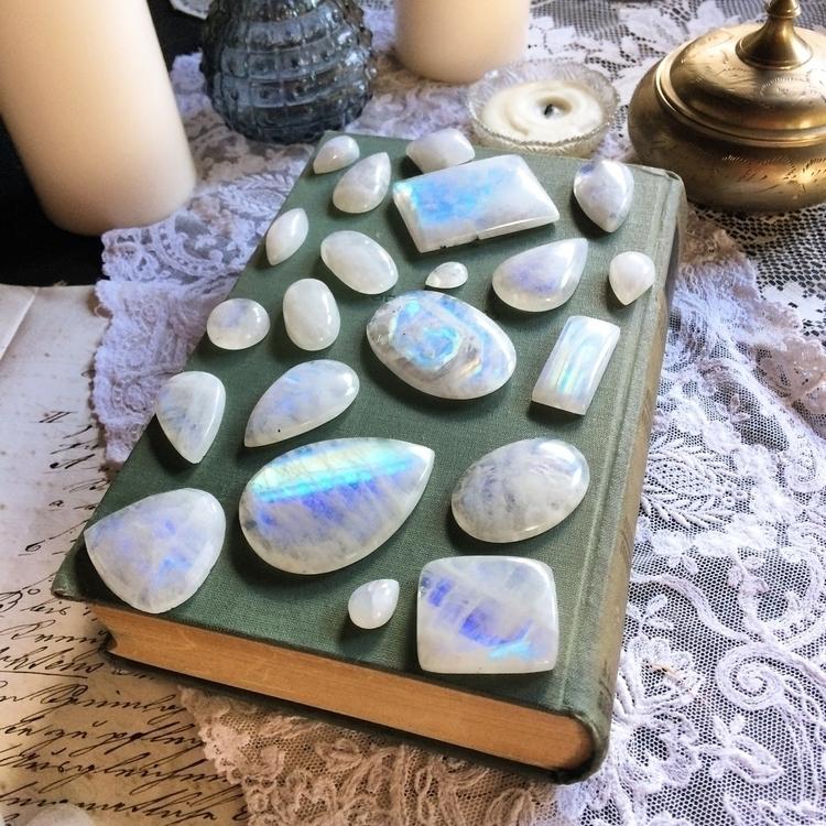 moonstones - crystal, crystals, loveandlight - verymeadow | ello