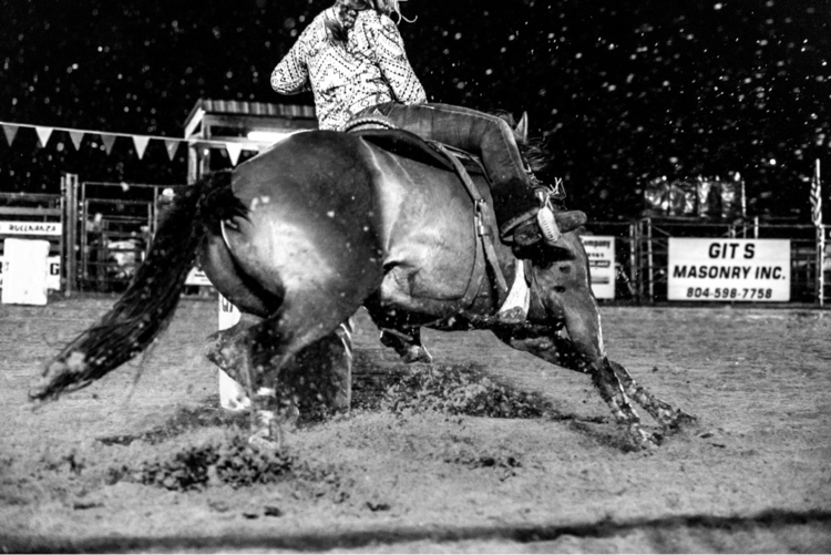 Barrel racing Powhatan rodeo! r - purplesulfurstudio | ello