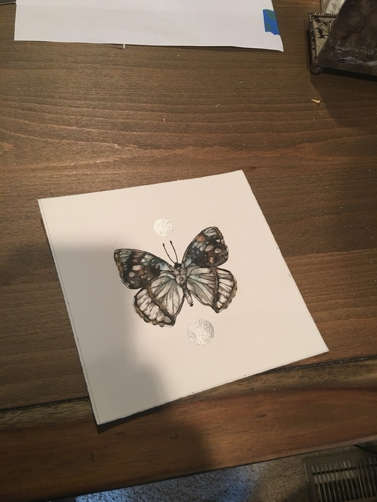 butterfly sold, figured share - ink - alexakarabin | ello