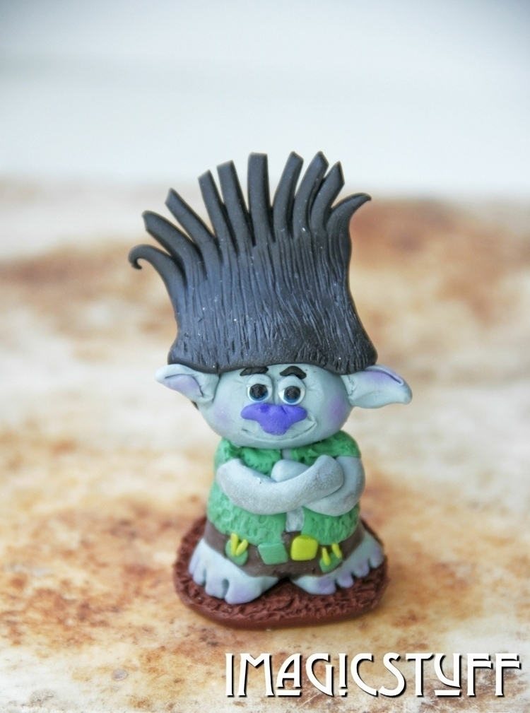 trolls movie?:rainbow: Meet Bra - i_magicstuff   ello