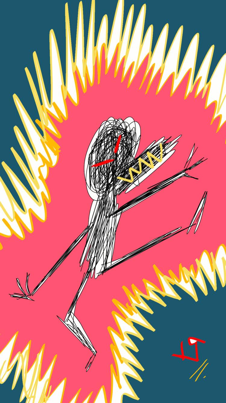 Scribble Kick Richard Yates 201 - richardfyates | ello