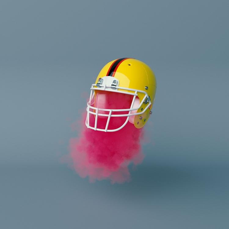EGOMAN - football, helmet, realness - ateliermartini | ello
