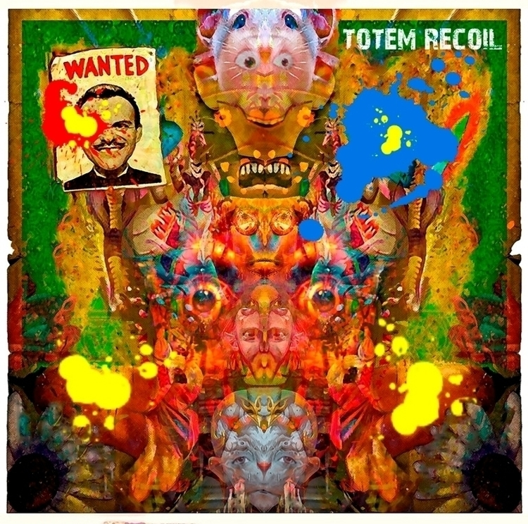Totem Recoil - Album art Alan B - alanbrooksart | ello