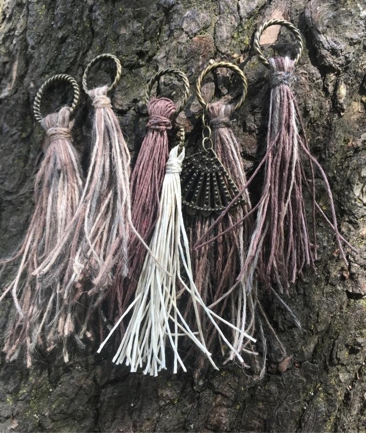 natural 100% cord tassels comin - gypsyxjewels | ello
