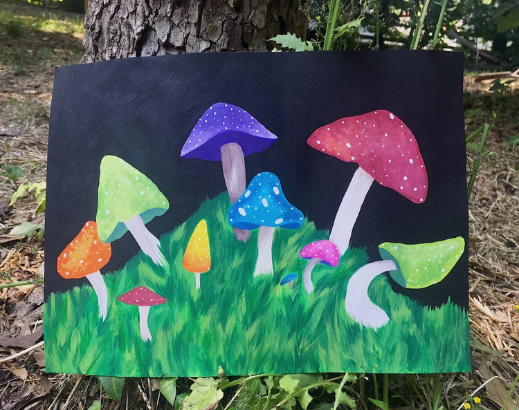 magical mushroom forest Etsy Sh - ihtzjennifer | ello