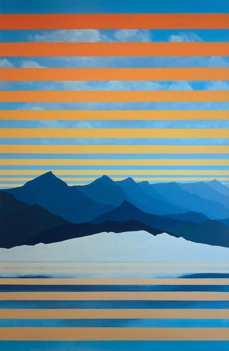 newest painting: Mono Lake 2016 - julikalackner | ello