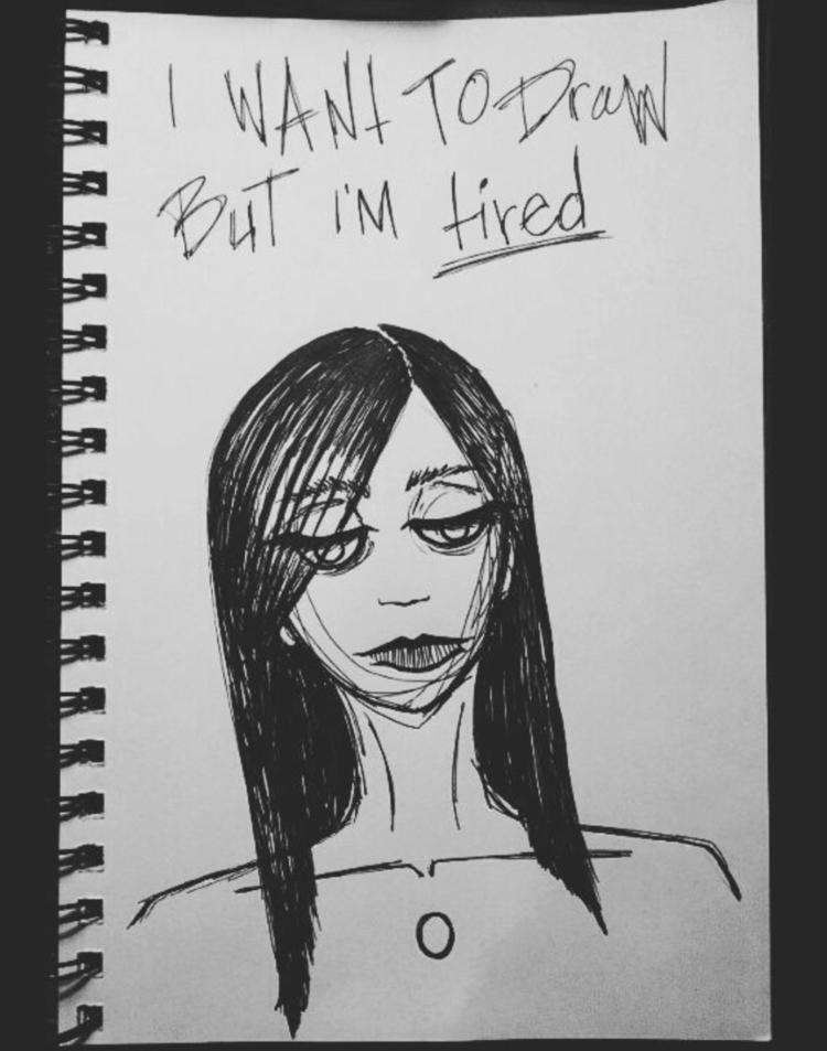 older drawing, feelings mysteri - grimoira | ello