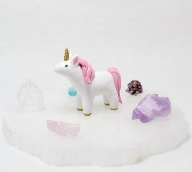 majestic, pink maned unicorn su - mariposaminiatures | ello