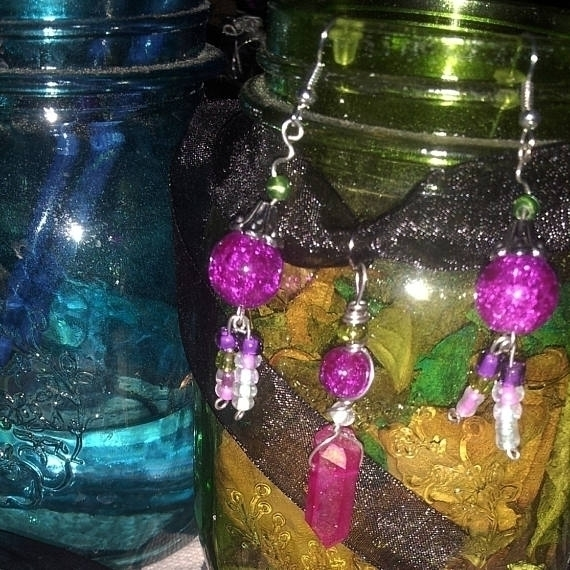 Flower inspired jewelry set $1 - mintroyaleshop   ello