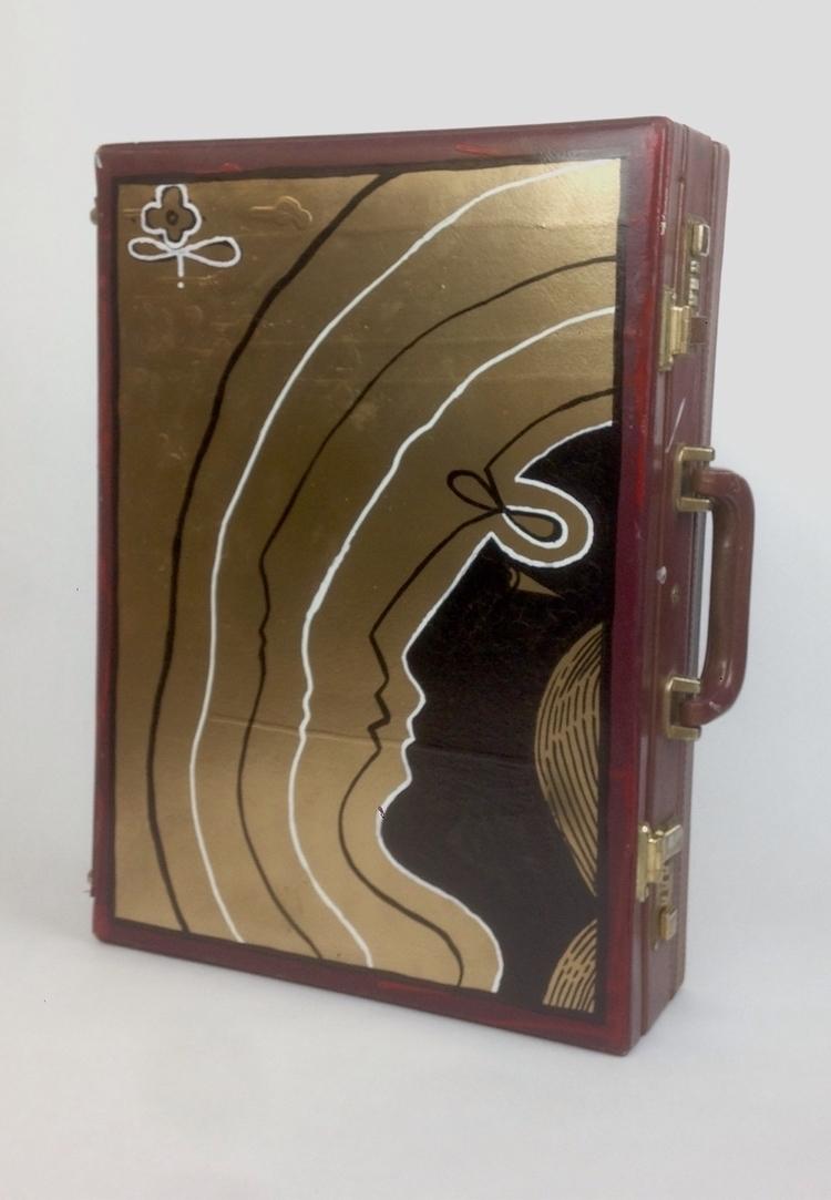 suitcase series 15x18 spay pain - radmrblack | ello