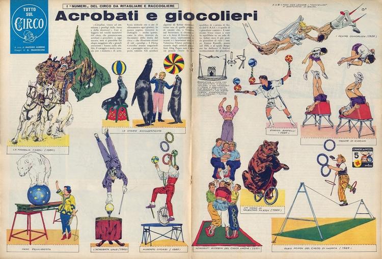 [Acrobati (di Alberini Francesc - corrierino | ello