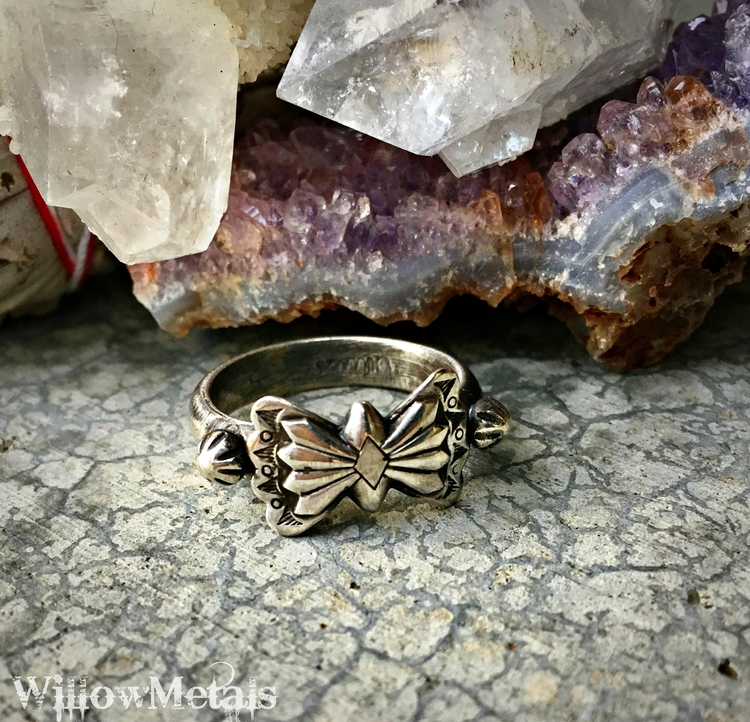 Thunderbird Ring shop. Solid St - willowmetals | ello