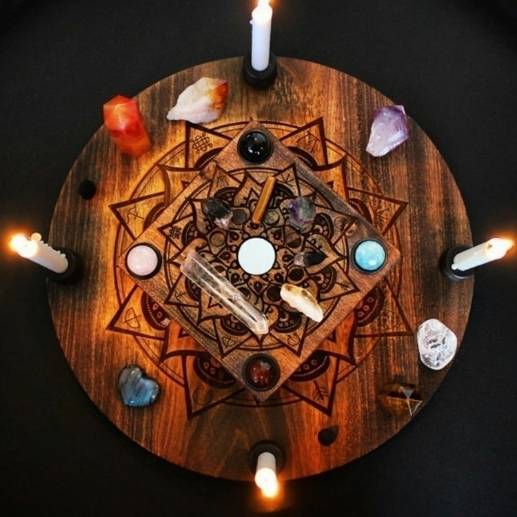 Create unique sacred space hand - grayvervain | ello