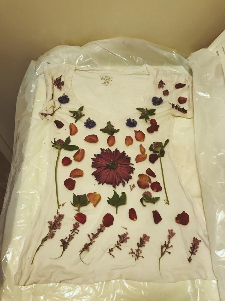 bundles dye shirts experimented - wildflowerramblings | ello