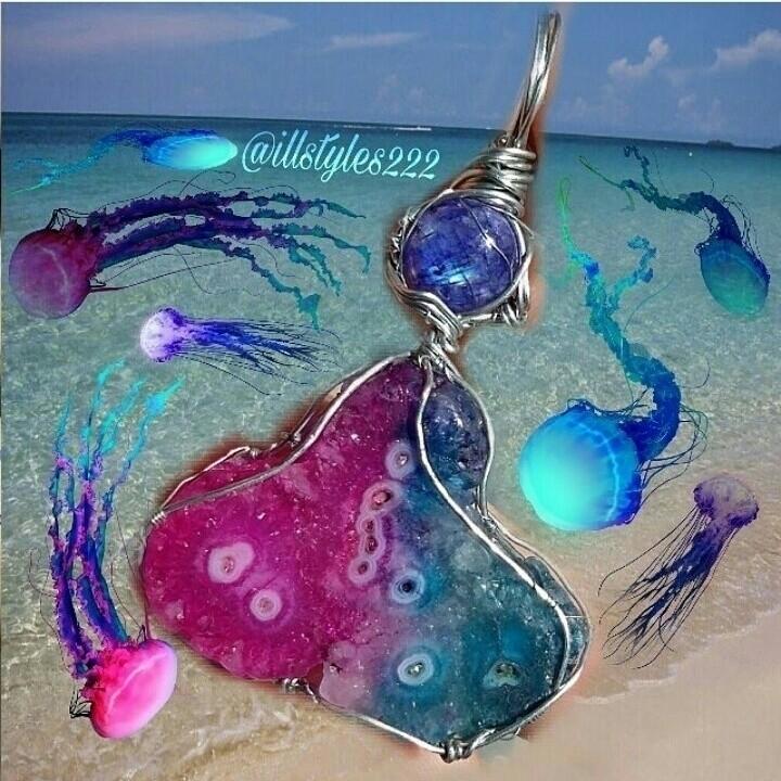 blue - rainbow, moonstone, pink - illstyles222 | ello