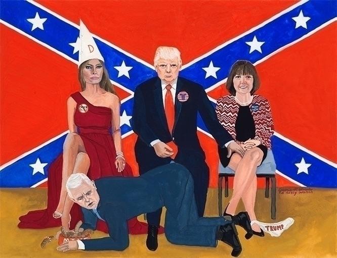 America: gouache watercolor pap - jamieluoto | ello