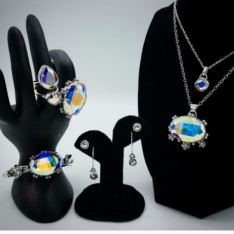 custom Sterling silver swarovsk - newerajewels | ello
