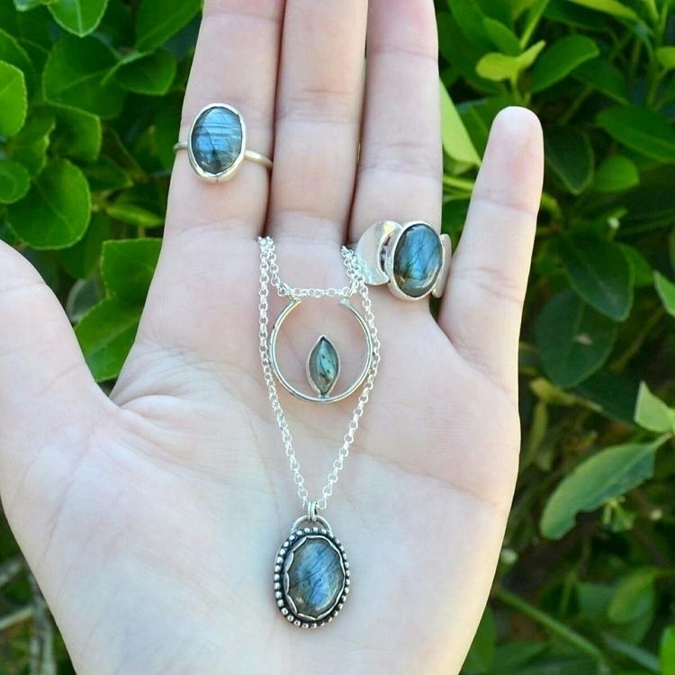 Labradorites - jewelry, stetlingsilver - abycraft | ello
