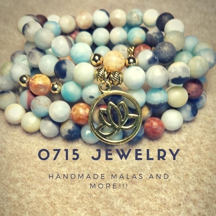 Handmade stretchy 108 Bead mala - 0715jewelry | ello