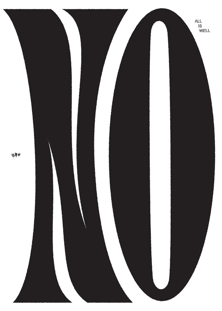 typography, , NOOO, alliswell - mattluckhurst | ello