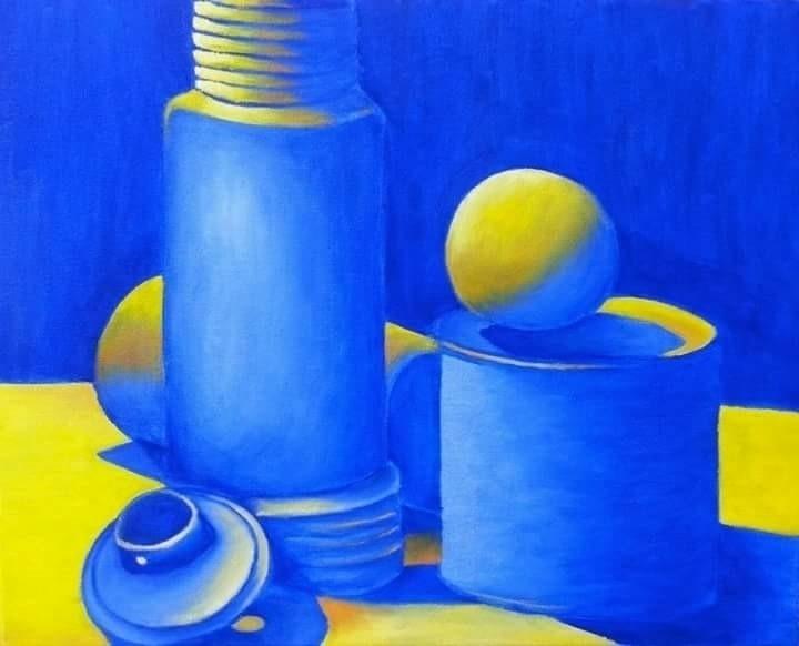 oil painting art class 2013 - helvetejakthund | ello
