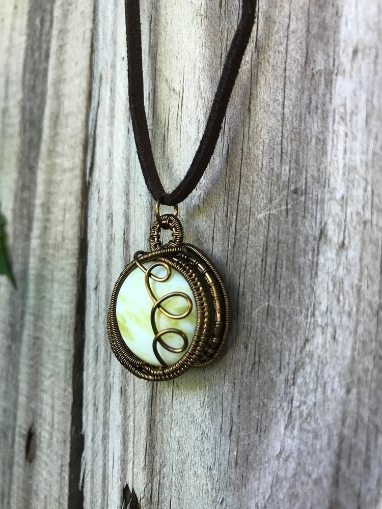Lemon Jade pendant wonderful ai - earthwisdomelements | ello