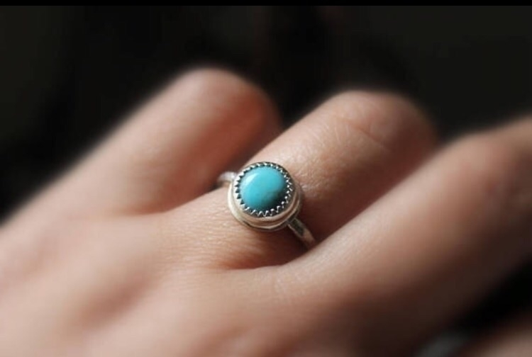 Kingman turquoise(Arizona sterl - gugmajewelry | ello